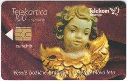 SLOVENIA B-548 Chip Telekom - Religion, Statuette - Used - Slovénie