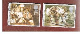 GRAN BRETAGNA (UNITED KINGDOM) -  SG 1294.1295  -  1985 ARTHURIAN LEGENDS - USED - 1952-.... (Elizabeth II)