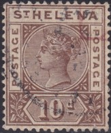 St Helena   .   SG  .    52     .    O      .   Cancelled       .   /    .  Gebruikt - Sint-Helena
