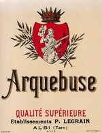 ALBI / LEGRAIN / ARQUEBUSE - Etiquettes