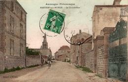 MARTRES-SUR-MORGE LA GRANDE RUE (CARTE COLORISEE) - Frankrijk