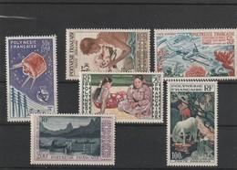 Polynesie Petit Lot Sans CharniérePA 1 A 4 , 10 14 11 13 5 Et 9 Cote 386.2 Sans Charniére - Unused Stamps
