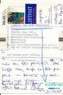 KIEL - 22.9.94 , Karte Nach Port Au Prince / Haiti - Zurück Z.Z. Kein Postverkehr - BRD