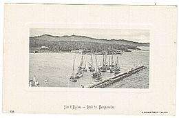 PORQUEROLLES - JETEE -  C.T. - Porquerolles