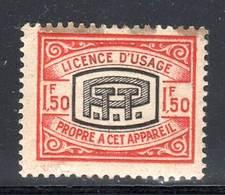 FISCAUX - TELEPHONE N°3 (*) 1963 - Fiscaux