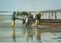 C.P. - PHOTO - IMAGES DU SÉNÉGAL - RETOUR DE PECHE A CAYAR - G. I. A.  - M. RENAUDEAU - PC 15 - Sénégal