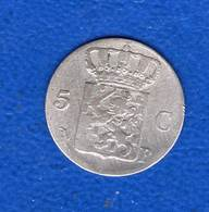 Pays Bas  5  Cents  1826 B - [ 3] 1815-… : Kingdom Of The Netherlands