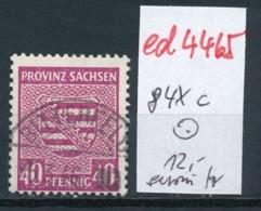 SBZ Nr. 84 Xc    Geprüft   O   (ed4465 ) Siehe Scan - Zone Soviétique