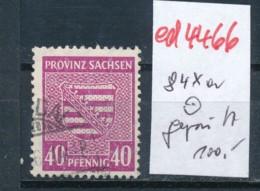 SBZ Nr. 84 Xa    Geprüft   O   (ed4466 ) Siehe Scan - Zone Soviétique