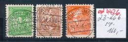 SBZ Nr. 23-26 B   Geprüft   O   (ed4426 ) Siehe Scan - Zone Soviétique