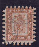 FINLANDE : N° 10 . OBL . 1866/70 . TB . SIGNE . - Used Stamps