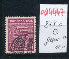 SBZ Nr. 84 Xc        Geprüft   O   (ed4447 ) Siehe Scan - Zone Soviétique