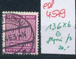 SBZ Nr. 136 X B    Geprüft  O   (ed4579 ) Siehe Scan - Zone Soviétique