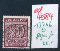 SBZ Nr. 137 Xb     Geprüft  O   (ed4584  ) Siehe Scan - Zone Soviétique