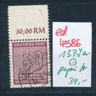 SBZ Nr. 137 Ya     Geprüft  O   (ed4586  ) Siehe Scan - Zone Soviétique