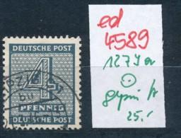 SBZ Nr. 127 Ya      Geprüft  O   (ed4589  ) Siehe Scan - Zone Soviétique