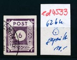 SBZ Nr. 62 BU    Geprüft  O   (ed4533  ) Siehe Scan - Zone Soviétique
