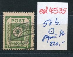 SBZ Nr. 57 B     Geprüft  O   (ed4535  ) Siehe Scan - Zone Soviétique