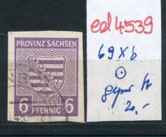 SBZ Nr. 69 Xb    Geprüft  O   (ed4539  ) Siehe Scan - Zone Soviétique