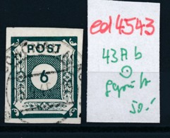 SBZ Nr. 43 Ab     Geprüft  O   (ed4543  ) Siehe Scan - Zone Soviétique