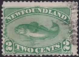 Newfoundland      .   SG  .    46     .      O        .   Cancelled       .   /    .  Gebruikt - Newfoundland