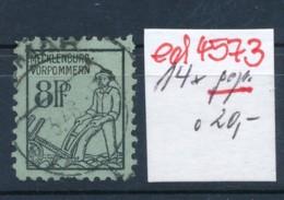 SBZ Nr. 14x     Geprüft  O   (ed4573  ) Siehe Scan - Zone Soviétique