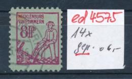 SBZ Nr. 14 X     Geprüft  O   (ed4575  ) Siehe Scan - Zone Soviétique