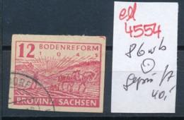 SBZ Nr. 86 Wb    Geprüft  O   (ed4554  ) Siehe Scan - Zone Soviétique