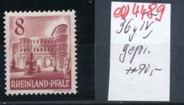 Rheinland Pfalz  Nr. 36 IV    **    (ed4489  ) Siehe Scan - Zone Française