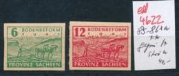 SBZ Nr.  85-86xa ** Signiert    (ed4622  ) Siehe Scan - Zone Soviétique