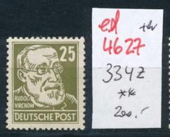 DDR Nr. 334 Z     ** (ed4627  ) Siehe Scan - [6] République Démocratique