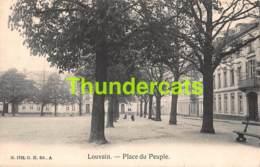 CPA LEUVEN LOUVAIN PLACE DU PEUPLE - Leuven