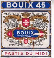 66 / PERPIGNAN / BOUIX / PASTIS DU MIDI - Etiquettes