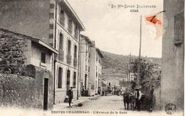 BRIVES-CHARENSAC L'AVENUE DE LA GARE - Autres Communes