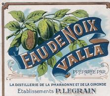 ALBI / LEGRAIN / EAU DE NOIX VALLA / DISTILLERIE PHARAONNE / TRES BELLE - Etiquettes