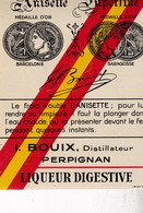 PERPIGNAN / BOUIX / STELLA ANIS / ANISETTE - Etiquettes