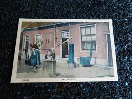 Huizen, Aan De Wasch, Non Circulée     (V7) - Autres