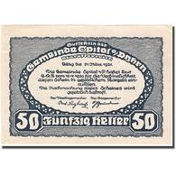 Billet, Autriche, Spital Am Pyhrn, 50 Heller, Montagne, 1921 SUP Mehl:FS 1007Ia - Autriche