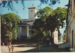C.P. - PHOTO - RÉPUBLIQUE DU SÉNÉGAL - L'ÎLE DE GOREE - LA ¨PLACE DE L'EGLISE - 40 - VINCENT - Sénégal
