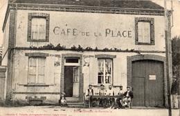 """MAILLEBOIS CAFE DE LA PLACE """"RASSEMBLEMENT DE POIVROTS"""" RARE - France"""
