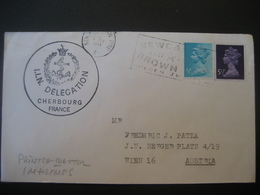 Grossbritannien 1952- Bedarfsbeleg Von Der Britischen Marine Nach Wien - Covers & Documents
