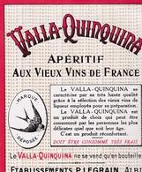 ALBI / LEGRAIN / VALLA QUINQUINA - Etiquettes
