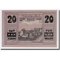 Billet, Autriche, Neukirchen, 20 Heller, Paysage, 1920, SPL, Mehl:656a - Autriche