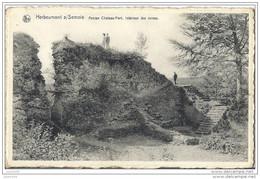 HERBEUMONT ..-- Ruines De L ' Ancien Château ; Vers BERTRIX ( Melle Marie - Louise MARTIN ) . Voir Verso . - Herbeumont