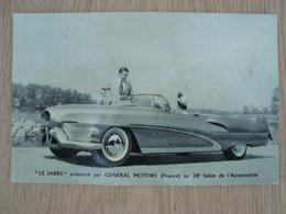 "IMAGE PHOTO ""LE SABRE"" PRESENTE PAR GENERAL MOTORS - Automobiles"