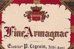 ALBI / LEGRAIN / FINE ARMAGNAC - Etiquettes