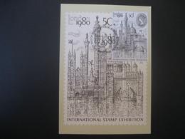 Grossbritannien/United Kingdom- FDC London 1980 - Cartes-Maximum (CM)