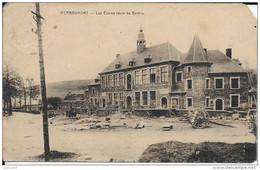HERBEUMONT ..-- Les Ecoles Route De BERTRIX . 1929 Vers CARLSBOURG ( Mr Octave REDING ) . Voir Verso . - Herbeumont