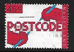 PAYS - BAS       -    1978.   Y&T  N° 1085 Oblitéré .    Code Postal  /  Stylo  /  écriture - Used Stamps
