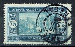 Senegal (French Colony), 75c., African Market, 1922, VFU  Nice Postmark From Thiès - Senegal (1887-1944)